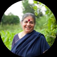 vandana shiva revolução verde agricultura ecologia india