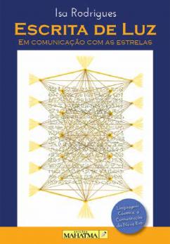 Escrita de Luz Em Comunicação Com as Estrelas